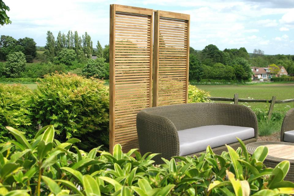 Trans Contemporary Garden Screens Bau Outdoors