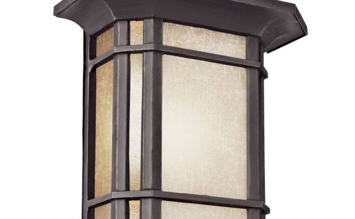 Transglobe Lighting Corner Windows Light Outdoor Flush Mount Ebay