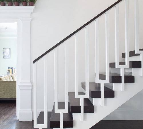 Transitional Staircase San Francisco General Contractors Jeff King