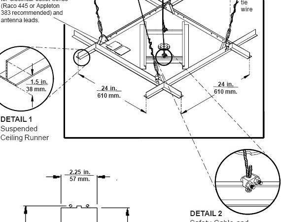 Tray Ceiling Drawing Details