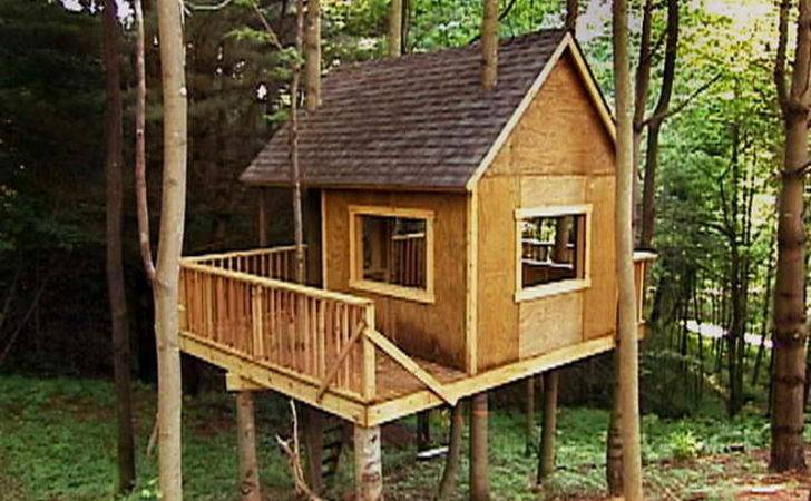 Tree House Design Plans Moreover Simple Kids Designs