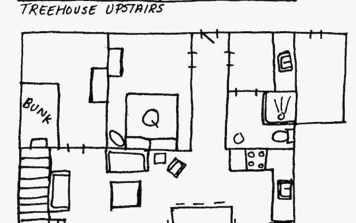 Tree House Floor Plans Adults Treehouse Plan