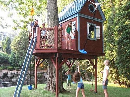 Tree House Plans Kids