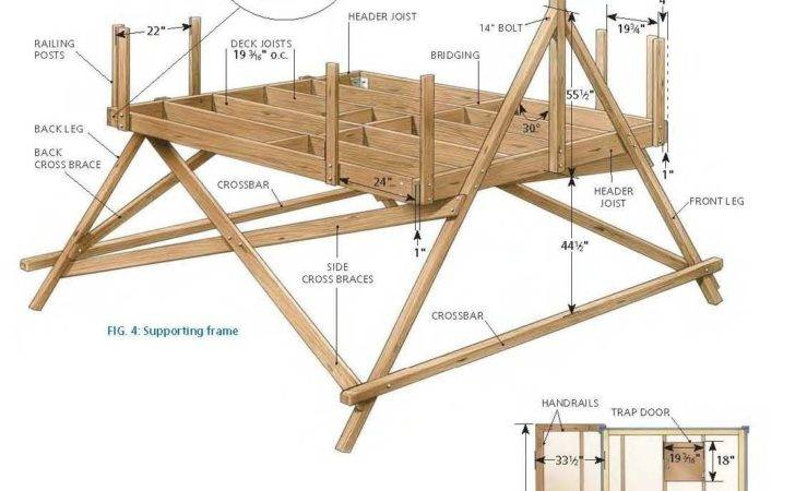 Tree House Plans Likewise Together Small Floor
