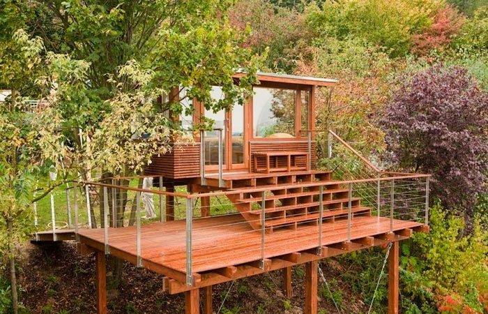 Tree House Plans Stilts Building Houses Other