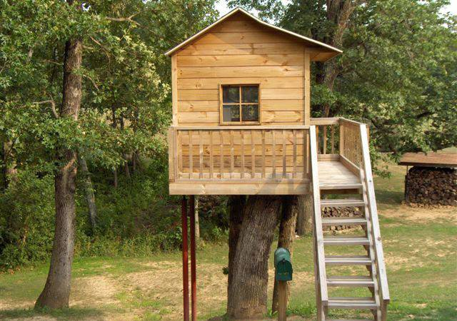 Treehouse Plans Playhouse Build Yourself