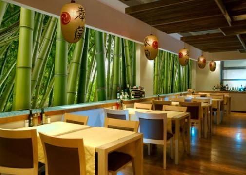 Tremendous Graceful Acute Line Ceiling Decoration Restaurant