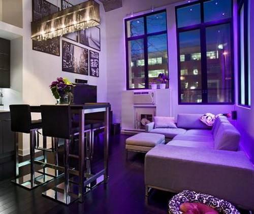 Trend Homes Purple Room Decorating Ideas