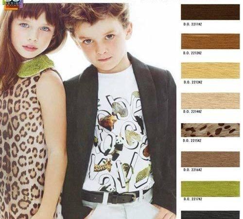 Trends Spring Summer Boy Girls Children Color Trend