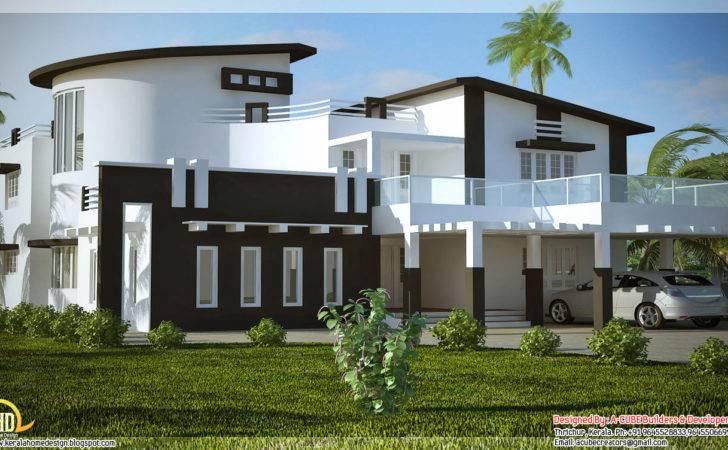 Trendy Indian House Elevation Kerala Home Design Floor Plans