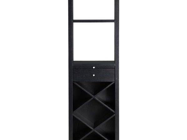 Triad Wine Tower Dining Kitchen Storage Crate Barrel Andrea