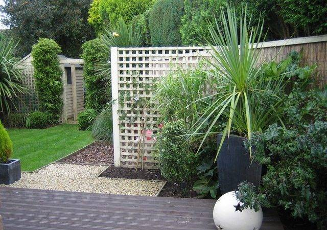 Triangular Garden Design Cheshire Outside Roomsoutside Rooms