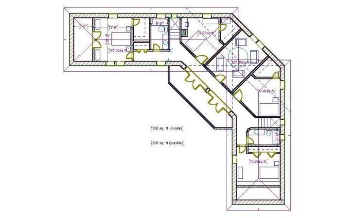 Triangular House Plans Straw Bale