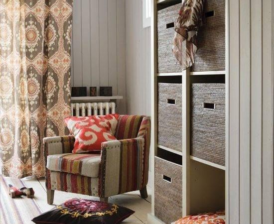 Tribal Inspired Living Room Decorating Housetohome