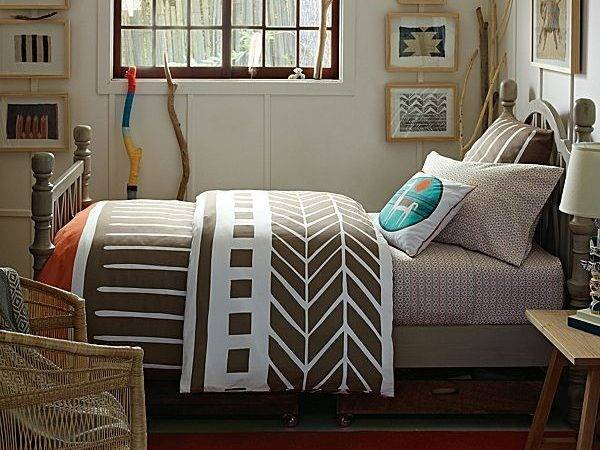 Tribal Style Bedding Earth Tones Designs Fall