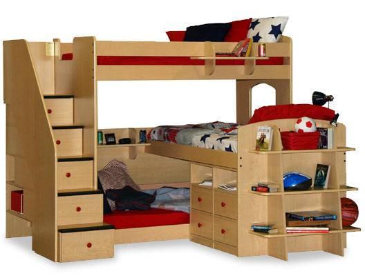 Triple Bunk Bed Design Ideas Home Garden