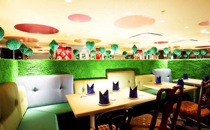 Trippy Tokyo Alice Wonderland Restaurant Delightful Hotspot