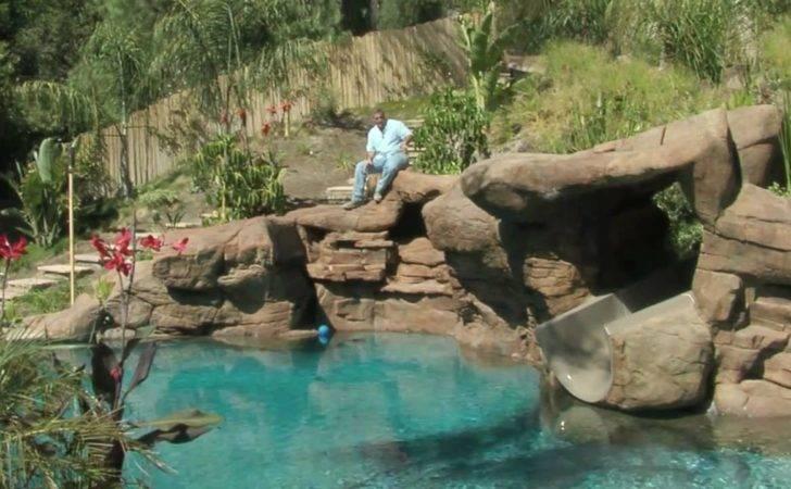 Tropical Backyard Pool Spa Ideas Youtube