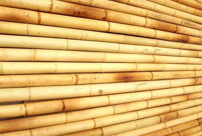 Tropical Bamboo Wall Covering Panels Home Decor Easy Install Ebay