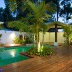 Tropical Design Around Swimming Pool Area