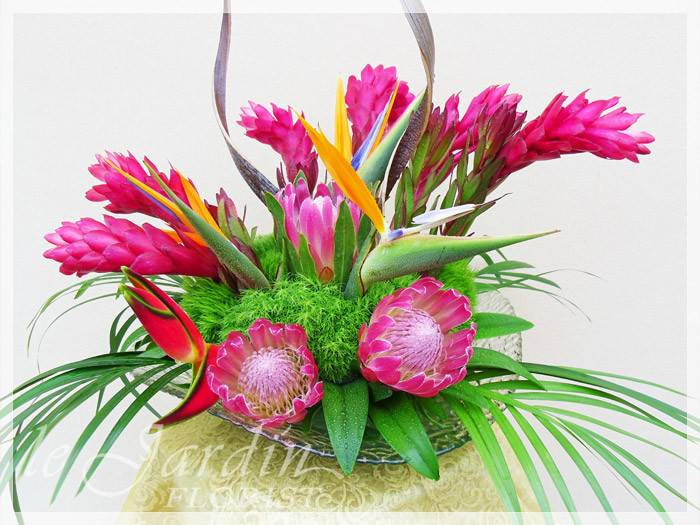 Tropical Flower Arrangements Florist Palm Beach Gardens