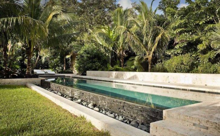 Tropical Garden Landscape Ideas Photograph