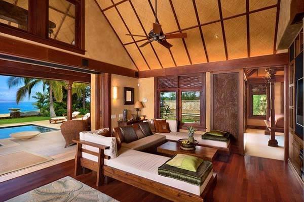 Tropical Home Decorating Ideas Charming Hawaiian Decor Theme