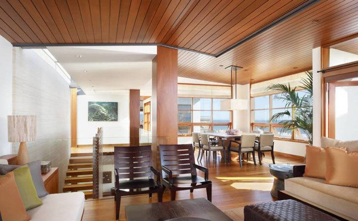 Tropical House Interior Wood Design