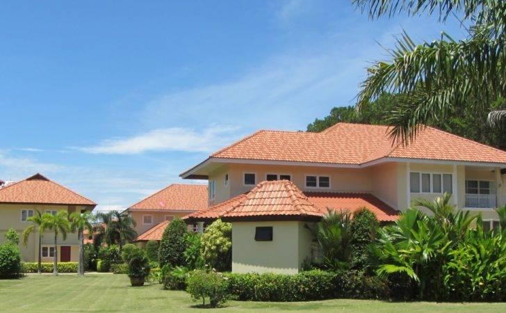 Tropical Houses Public Domain