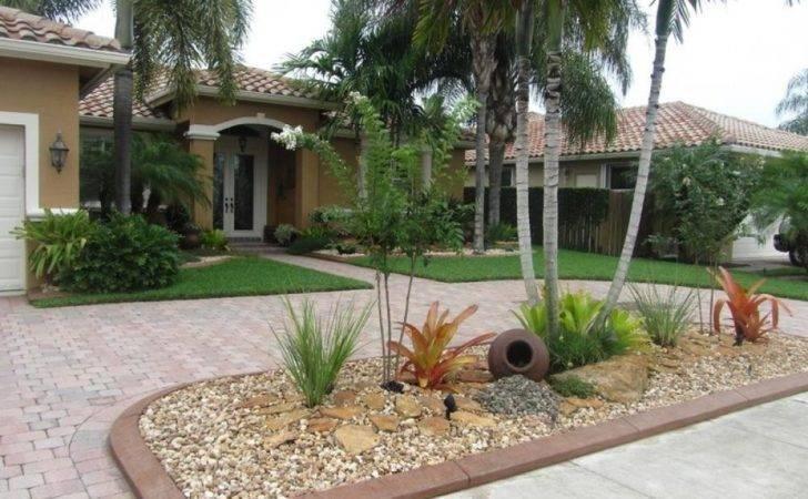 Tropical Landscaping Garden Ideas Designwalls