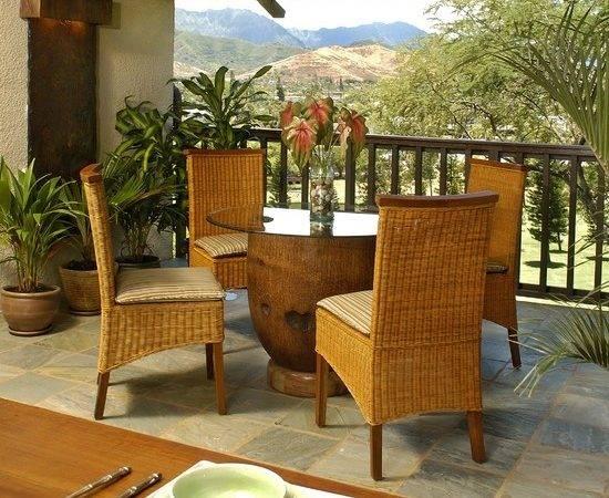 Tropical Patio Design Outdoor Dining Pinterest