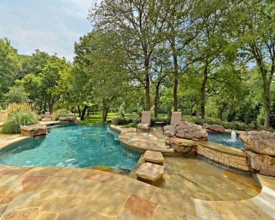 Tropical Pool Beautiful Homes Design
