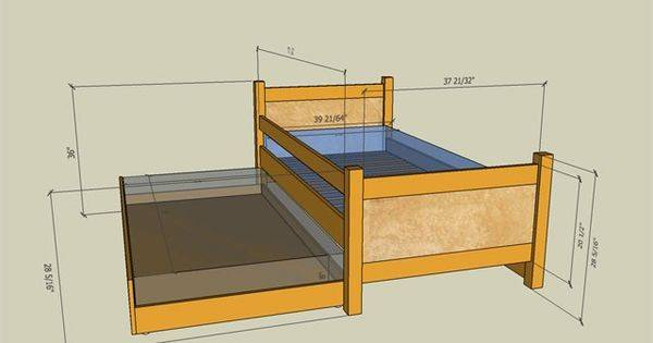 Trundle Bed Diy Crafts Pinterest Plans Blog Beds