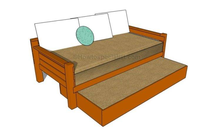Trundle Bed Howtospecialist Build Step Diy Plans