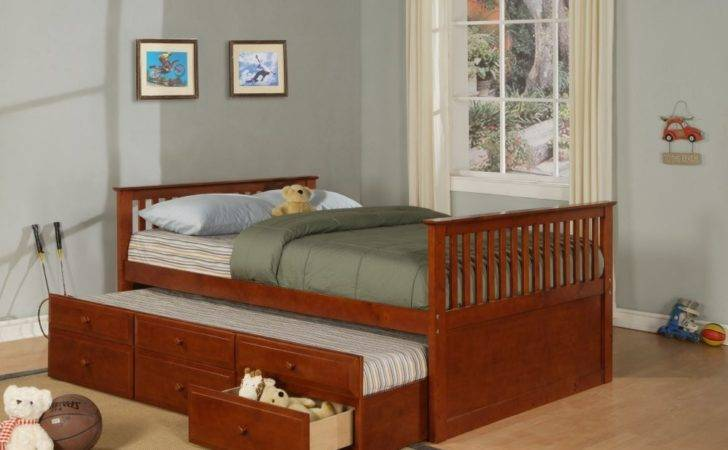 Trundle Bed Plans Diy Blueprints