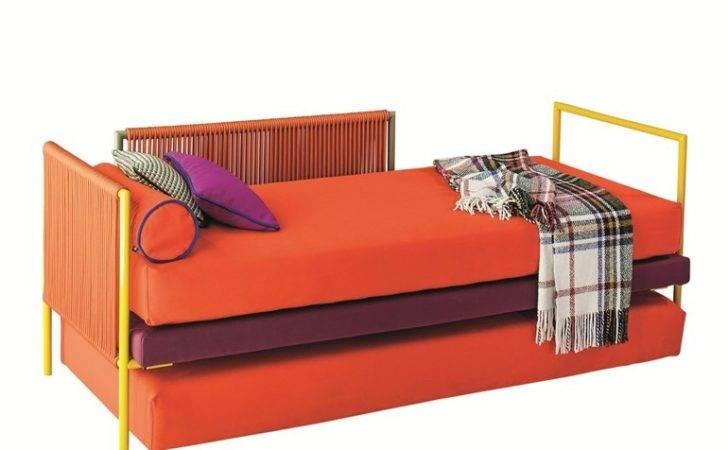 Trundle Single Bed Camaleo Twils