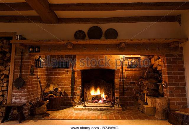 Tudor Fireplace Photos Alamy
