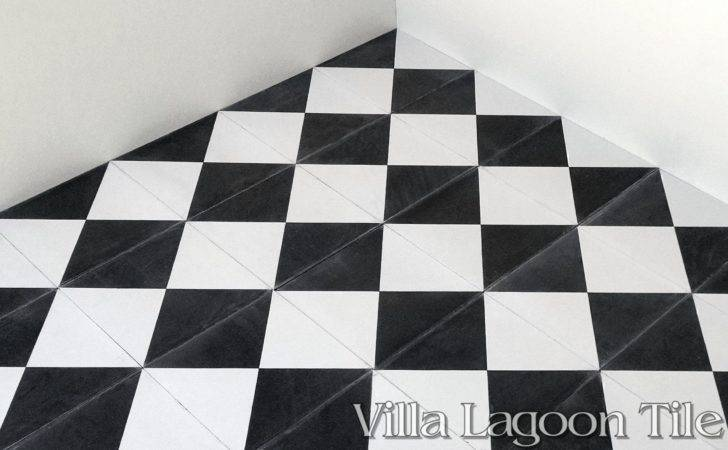 Tugboat Black White Cement Tile Villa Lagoon