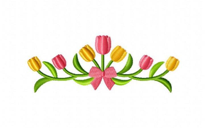 Tulip Border Joy Studio Design Best