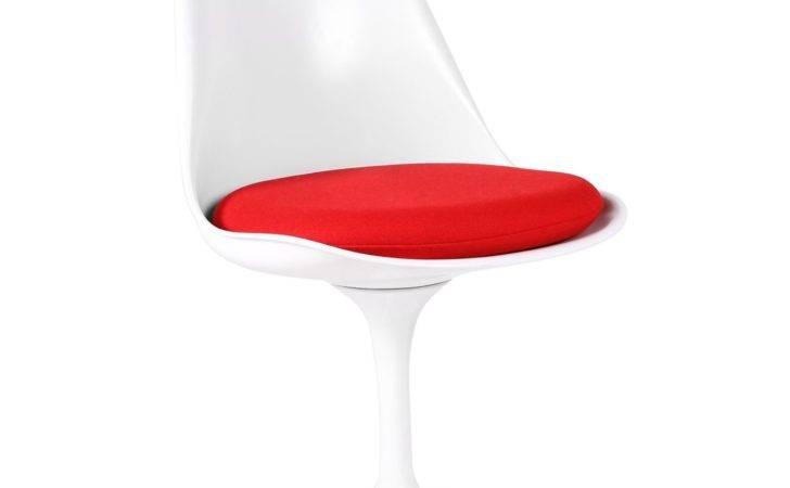 Tulip Chair White Design Icon Chairs