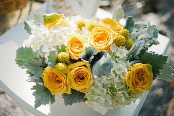 Tulip Design Studio News Yellow Wedding Decor Pinterest