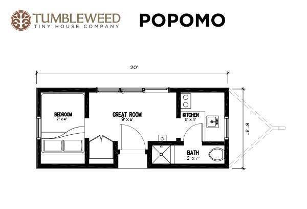Tumbleweed Tiny House Floor Plans Joy Studio Design