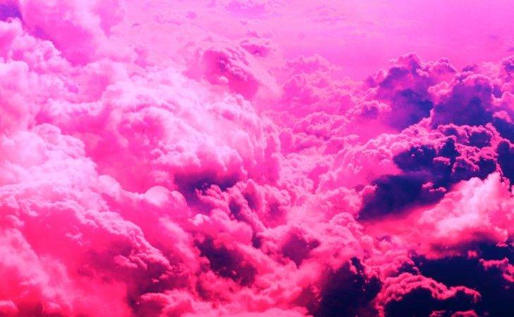 Tumblr Static Pink Clouds