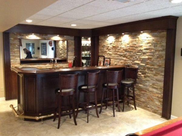 Turn Your Basement Into Bar Inspiring Designs Make