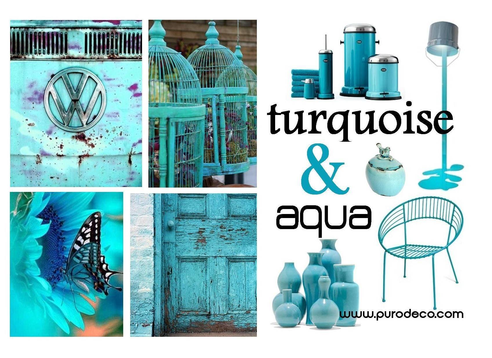 Turquoise Aqua Great Colors Hot Summer