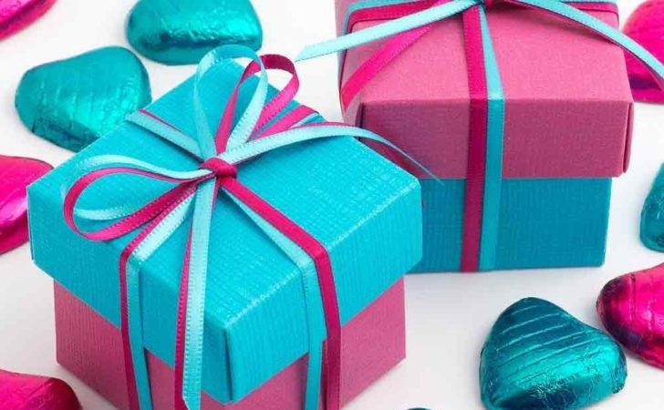 Turquoise Blue Fuchsia Pink Two Tone Wedding Favour Boxes