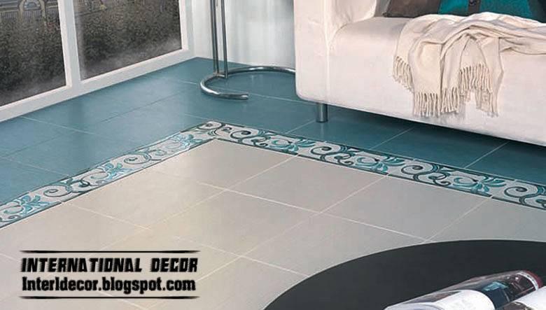 Turquoise Floor Tiles Color Design Top