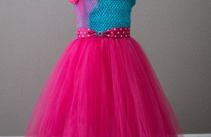 Turquoise Flower Girl Dress Fuchsia Party