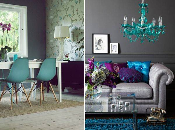 Turquoise Grey Living Room Color Scheme Pinterest