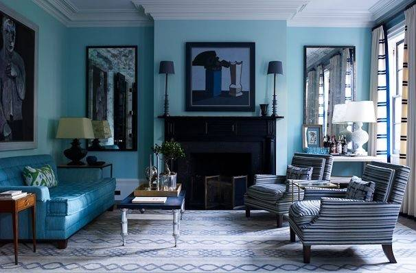 Turquoise Grey Living Room Houses Pinterest